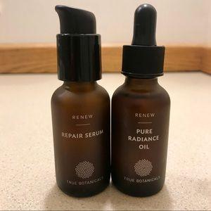 Renew pure radiance oil repair serum